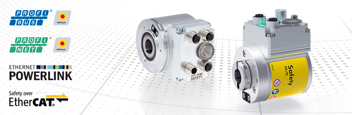 SIL3-/PLe-certified absolute rotary encoder